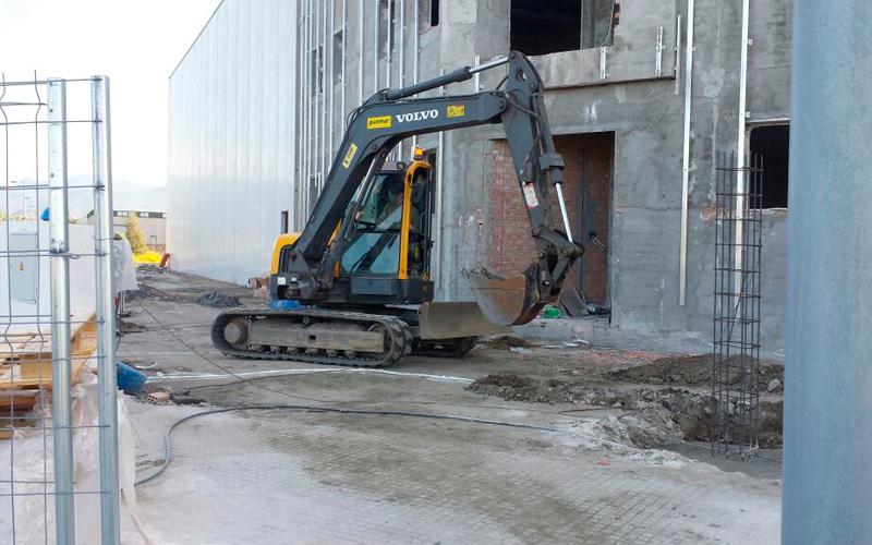 Cimentación para edificación
