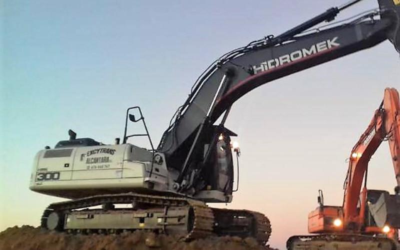 Excavación con maquinaria