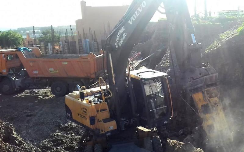 Excavación terreno