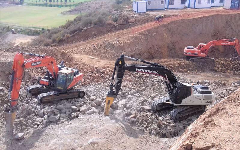 Excavaciones Málaga