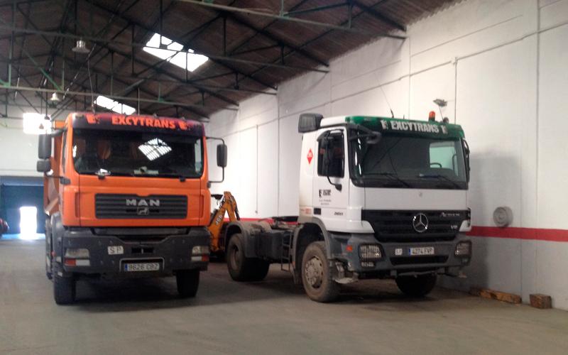 Excytrans - Transporte de áridos en Málaga