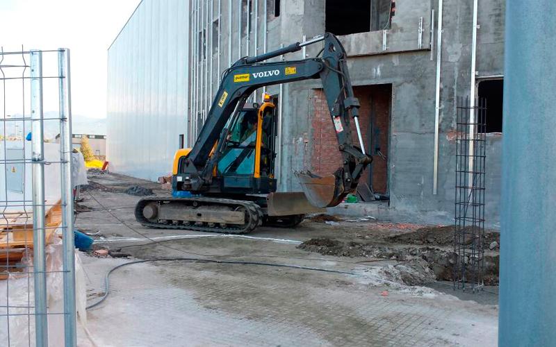 Excytrans - Cimentación para edificación