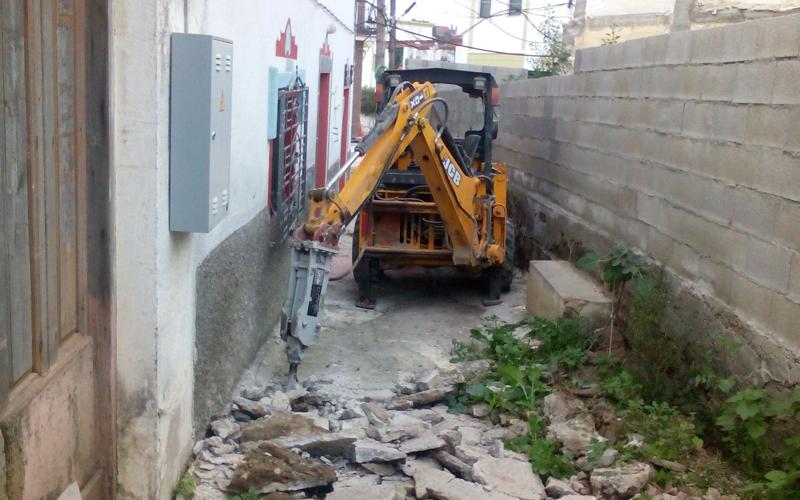 Mini excavaciones