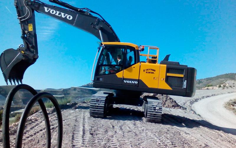 Maquinaria especializada para excavaciones