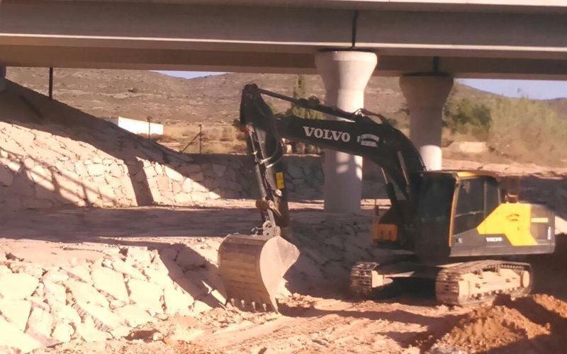 Maquinaria para excavaciones en Málaga