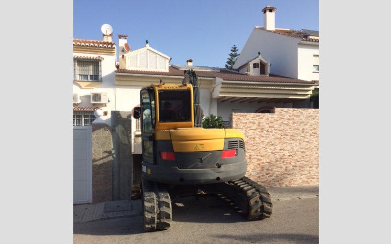 Maquinaria y equipos para realizar excavaciones